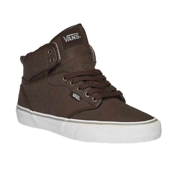 Męskie buty sportowe do kostki vans, brązowy, 801-4305 - 13