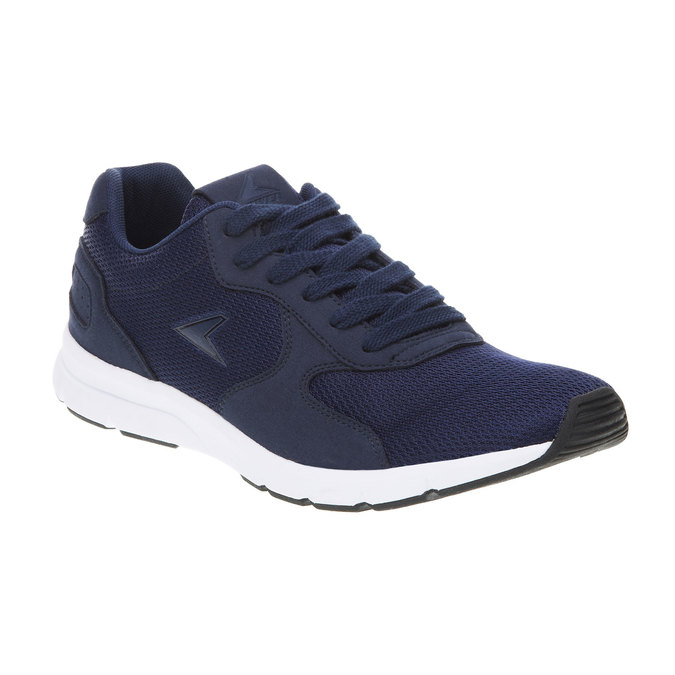 Męskie buty sportowe power, niebieski, 809-9159 - 13