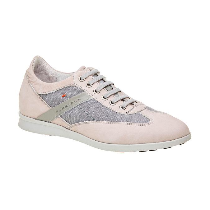 Męskie buty sportowe w codziennym stylu flexible, szary, 826-2638 - 13