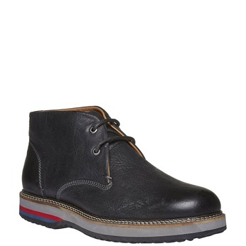 Skórzane buty w stylu Desert Boots bata, czarny, 894-6114 - 13