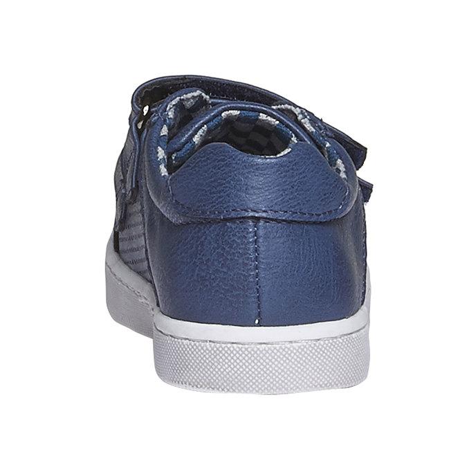 Dziecięce buty sportowe na rzepy mini-b, niebieski, 211-9151 - 17