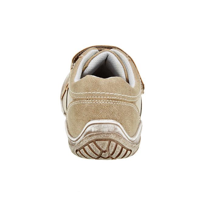 Dziecięce buty sportowe na rzep w codziennym stylu mini-b, brązowy, 311-3212 - 17