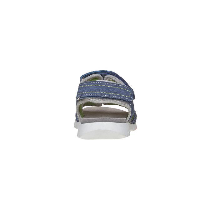 Sandały dziecięce flexible, niebieski, 363-9188 - 17