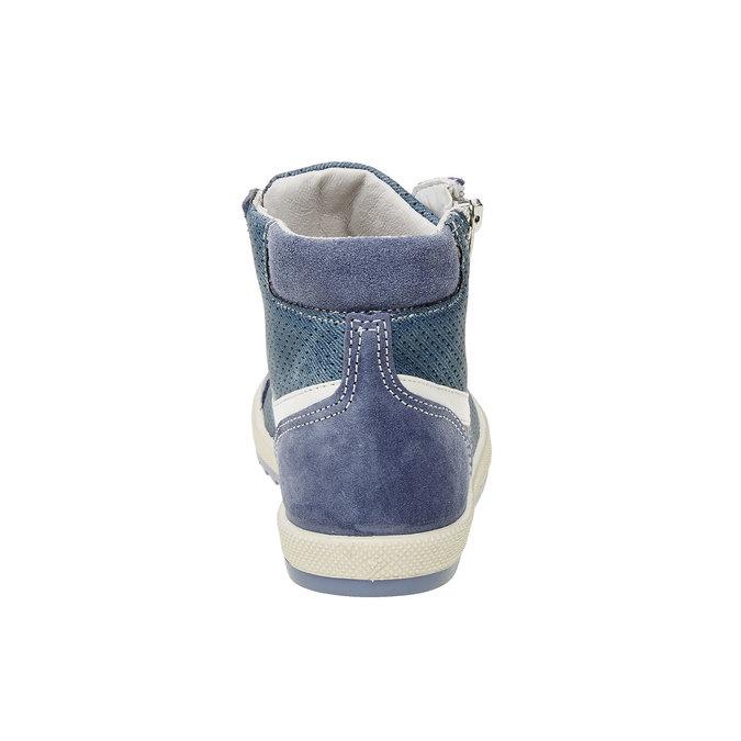 Dziecięce buty sportowe do kostki flexible, niebieski, 311-9194 - 17