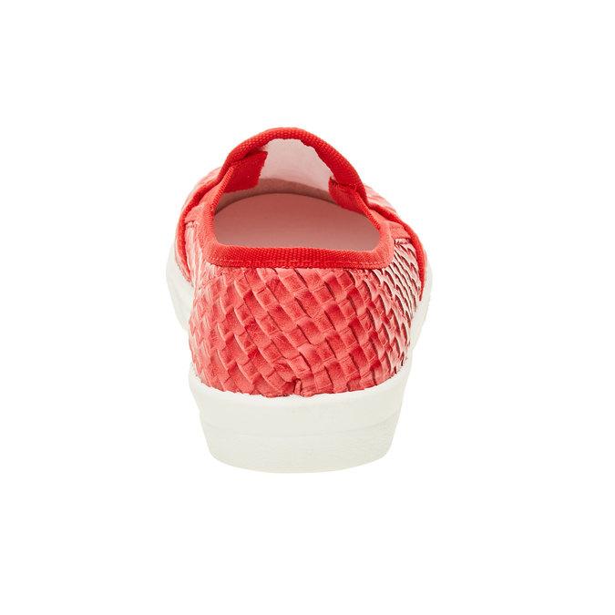 Dziecięce buty Slip On w kolorze czerwonym north-star-junior, czerwony, 321-5186 - 17