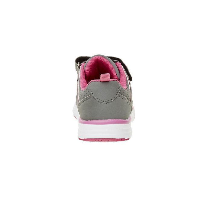 Dziecięce buty sportowe mini-b, szary, 321-2185 - 17
