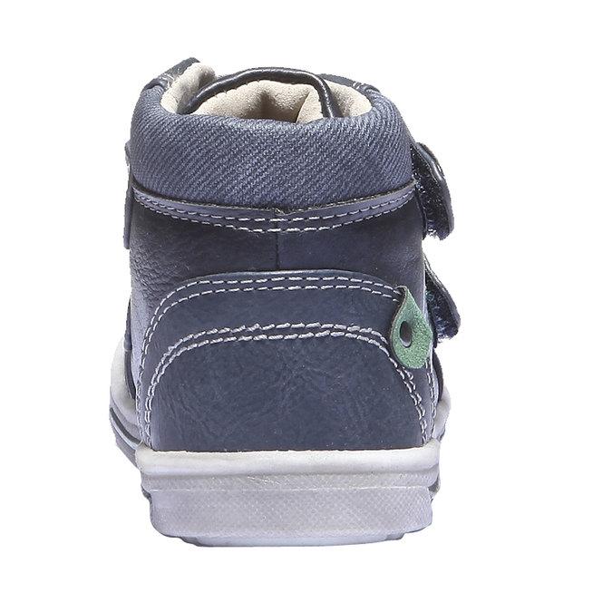 Dziecięce buty sportowe mini-b, niebieski, 111-9100 - 17