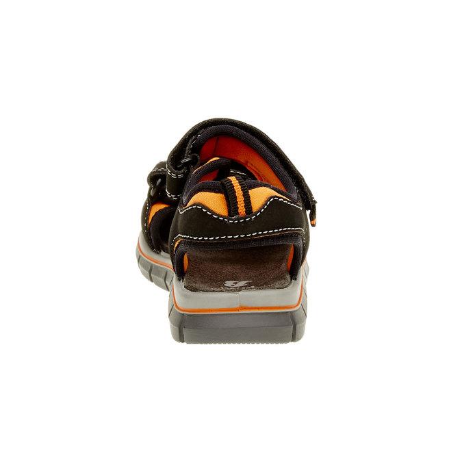 Sandały dziecięce mini-b, czarny, 361-6120 - 17