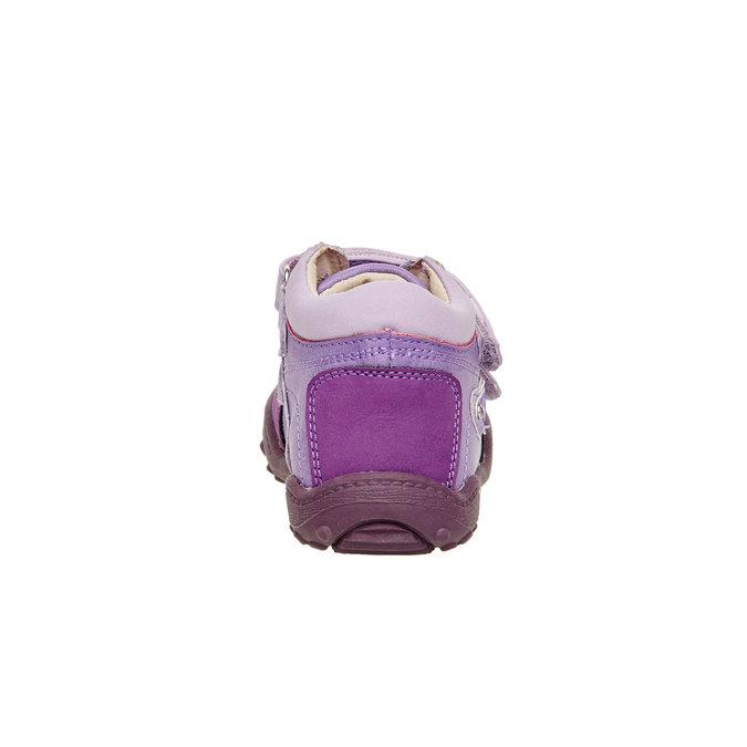 Dziewczęce botki mini-b, fioletowy, 121-9104 - 17