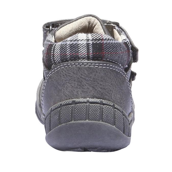 Dziecięce buty sportowe mini-b, szary, 121-2100 - 17