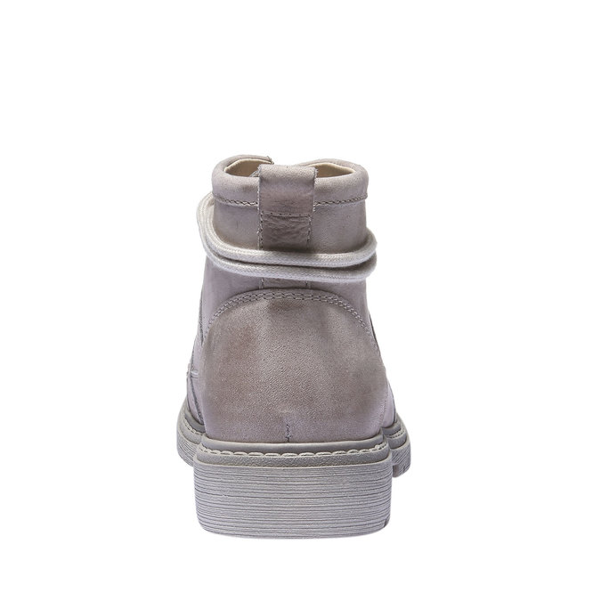 Skórzane buty z oryginalnymi sznurówkami weinbrenner, żółty, 596-8409 - 17