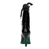 Skórzane kozaki zgumowym noskiem bata, czarny, 796-6630 - 17