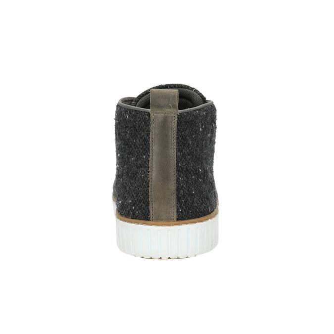 Trampki męskie bata, szary, 849-2621 - 17