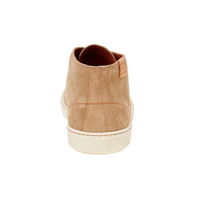 Męskie skórzane buty weinbrenner, brązowy, 843-8661 - 17