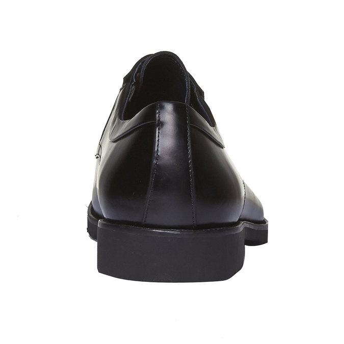 Skórzane półbuty w stylu Derby bata, czarny, 824-6398 - 17