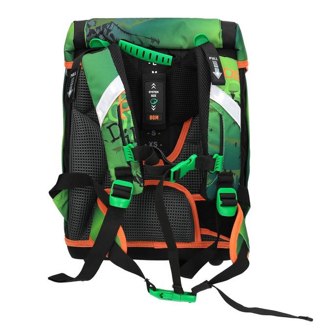 Zielony plecak szkolny bagmaster, zielony, 969-7612 - 26