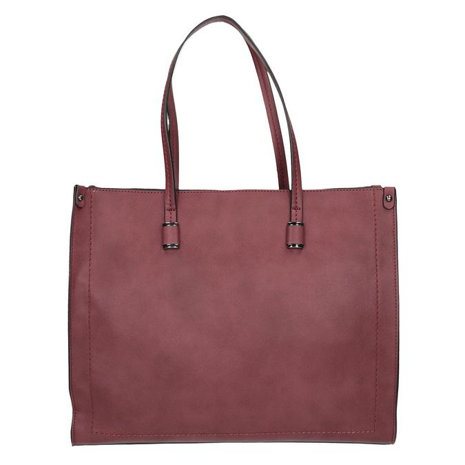 Damska torebka w stylu Shopping bata, czerwony, 961-0736 - 26