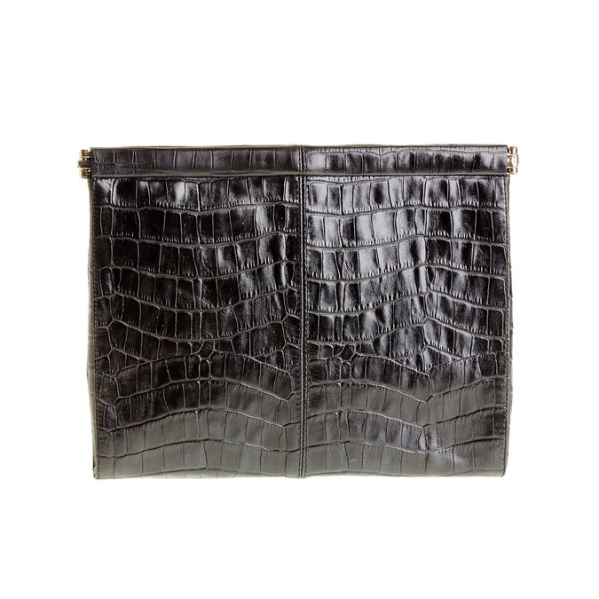 Skórzana kopertówka vagabond, czarny, 966-6095 - 26