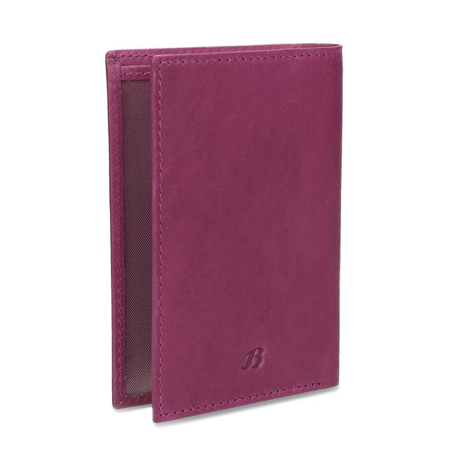 Skórzane etui na karty bata, czerwony, 944-5158 - 13