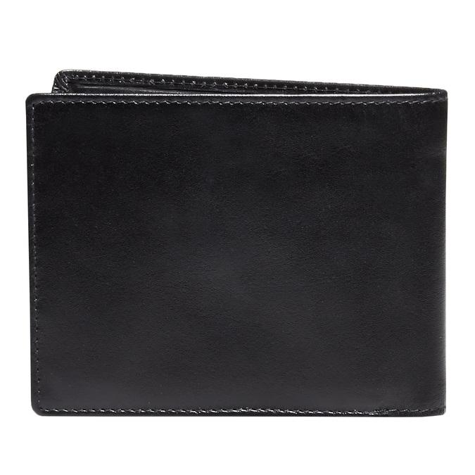Skórzany męski portfel bata, czarny, 944-6122 - 26
