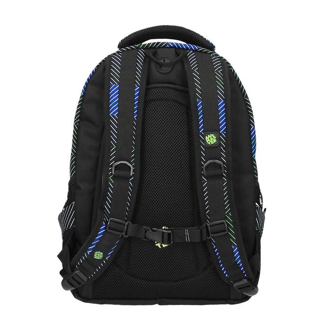 Plecak szkolny z nadrukiem bagmaster, niebieski, 969-9614 - 26