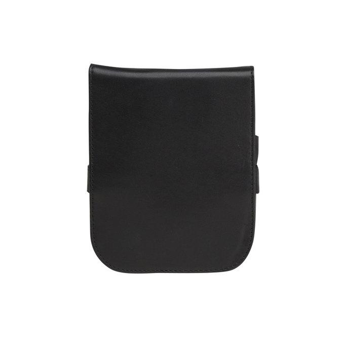 Zestaw do manicure w skórzanym etui bata, czarny, 944-6200 - 26