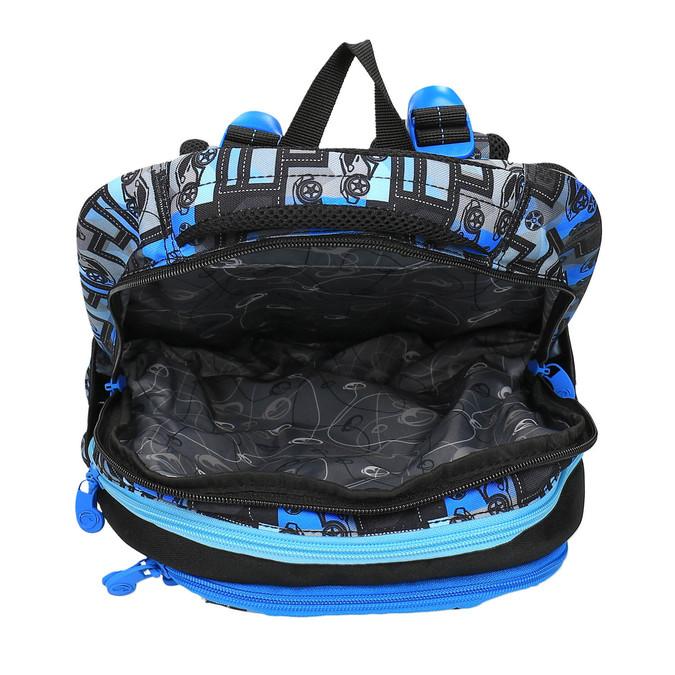 Chłopięcy plecak szkolny bagmaster, niebieski, 969-9610 - 15