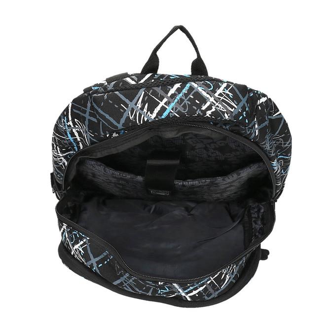 Plecak szkolny z nadrukiem bagmaster, czarny, 969-6616 - 15