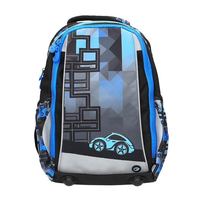 Chłopięcy plecak szkolny bagmaster, niebieski, 969-9610 - 19