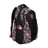 Dziewczęcy szkolny plecak z nadrukiem bagmaster, czarny, 969-5615 - 13