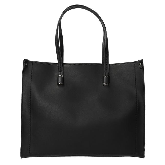Kwadratowa torebka w stylu Shopper bata, czarny, 961-6736 - 19