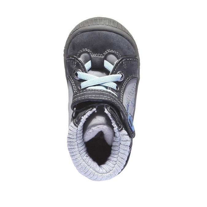 Buty dziecięce mini-b, szary, 111-2101 - 19
