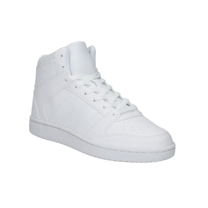 Białe trampki za kostkę adidas, biały, 501-1741 - 13