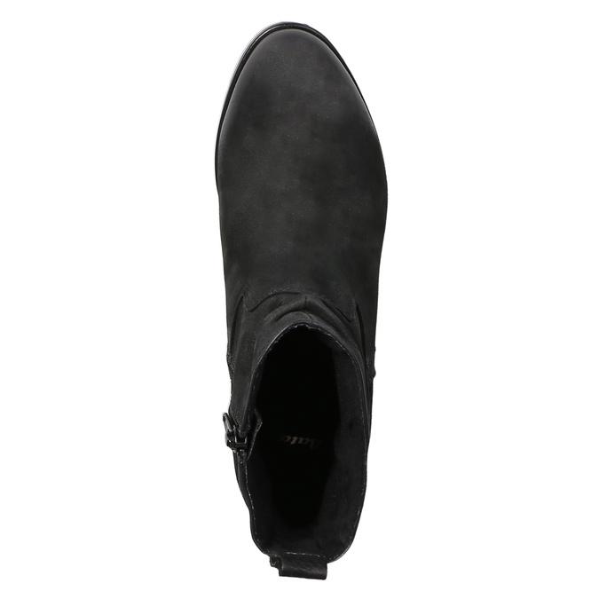 Botki damskie bata, czarny, 796-6600 - 19
