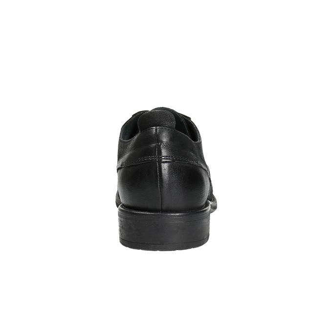 Półbuty ze skóry onieformalnym stylu bata, czarny, 826-6732 - 17
