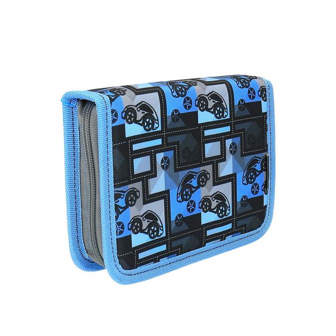 Niebieski piórnik szkolny bagmaster, niebieski, 949-9610 - 13
