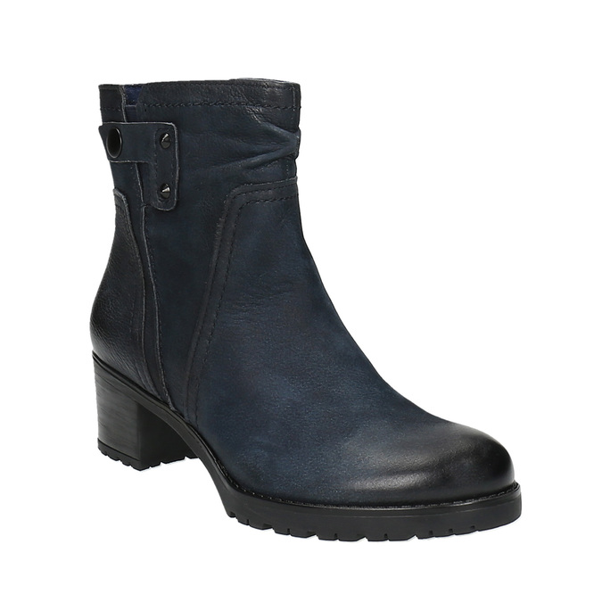 Botki damskie bata, niebieski, 696-9603 - 13