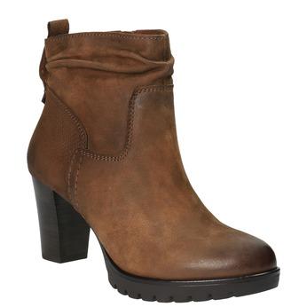 Botki damskie bata, brązowy, 796-4600 - 13