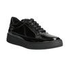 Damskie lakierowane buty sportowe bata, czarny, 528-6632 - 13