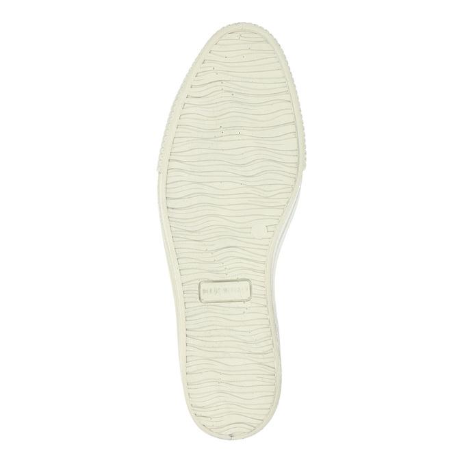 Skórzane botki na szerokiej podeszwie bata, szary, 596-2626 - 26