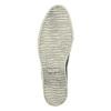 Skórzane buty Slip-on z wężowym wzorem bata, szary, 526-2606 - 26