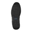 Czarne skórzane półbuty na co dzień bata, czarny, 826-6652 - 26