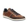 Nieformalne trampki ze skóry bata, brązowy, 844-4622 - 13