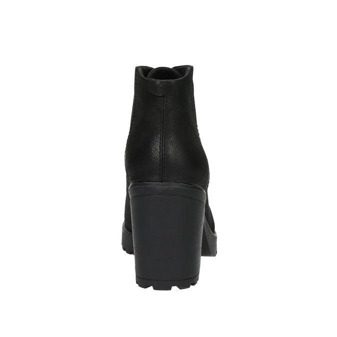 Botki damskie vagabond, czarny, 796-6003 - 17
