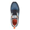 Męskie buty sportowe na solidnej podeszwie bata, niebieski, 841-9601 - 19
