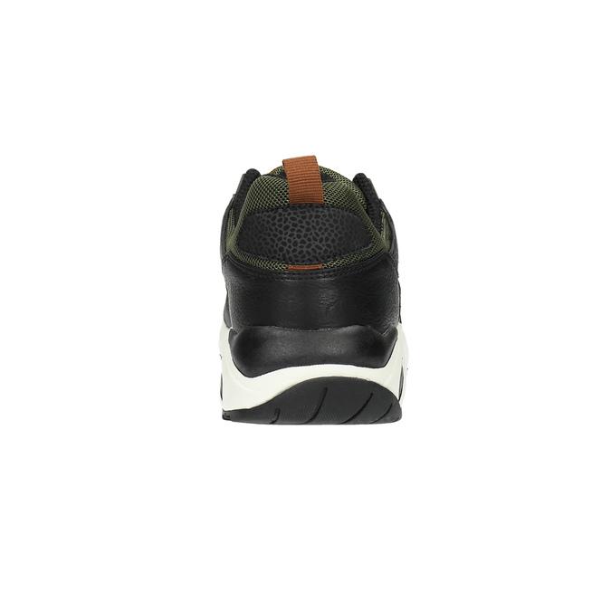 Męskie buty sportowe na solidnej podeszwie bata, czarny, 841-6604 - 17