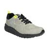 Trampki męskie zkontrastową podeszwą bata, szary, 841-2600 - 13