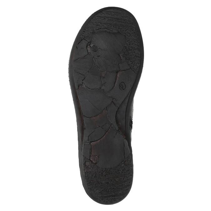 Damskie skórzane buty bata, czerwony, 526-5601 - 26