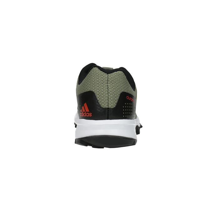Trampki męskie do biegania adidas, zielony, 809-7190 - 17