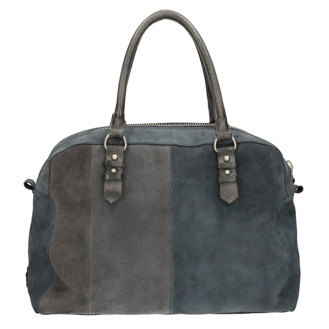 Zamszowa torba bata, szary, 966-2202 - 19